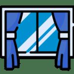 limpieza de marcos de ventanas